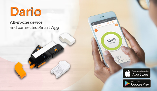 Dario is an all-in-one device and connected smart app